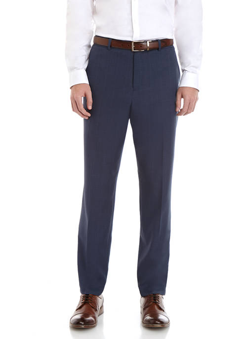 Perry Ellis® Mens Modern Comfort Stretch Heather Pants