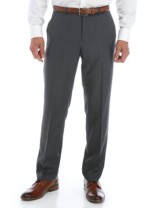 Perry Ellis® Modern Plaid Performance Dress Pants