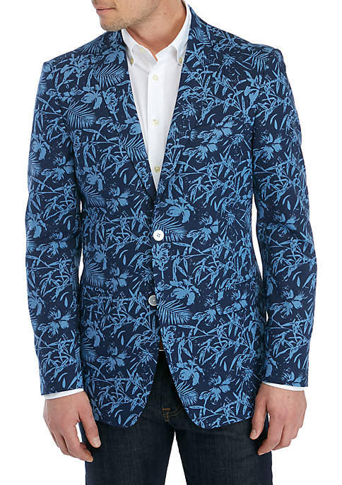 Blue Tropical Sportcoat