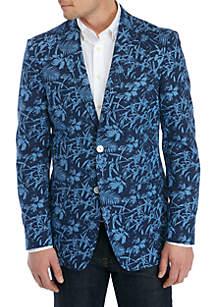 IZOD Blue Tropical Sportcoat