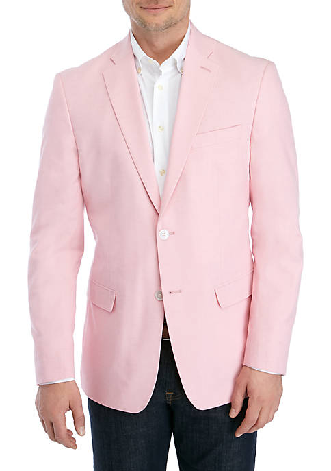 IZOD Illinois Pink Cotton Sportcoat