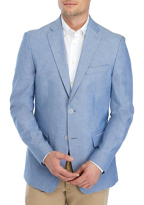 IZOD Illinois Blue Cotton Sportcoat