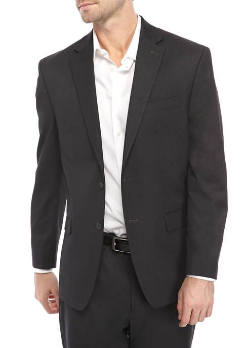 IZOD Mens Charcoal Suit Separate Coat