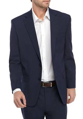 Mens Medium Blue Suit Separate Coat
