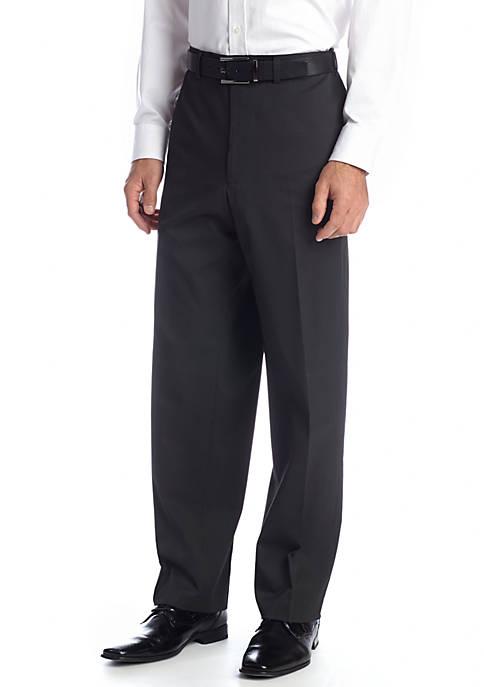 Classic Fit Black Stripe Pants
