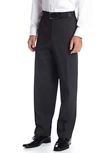 IZOD Classic Fit Black Stripe Pants