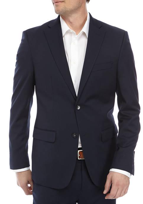 IZOD Mens Navy Suit Separate Coat