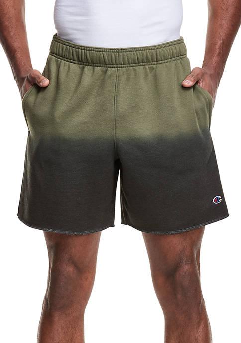 Champion® Ombré Dip Dyed Fleece Shorts