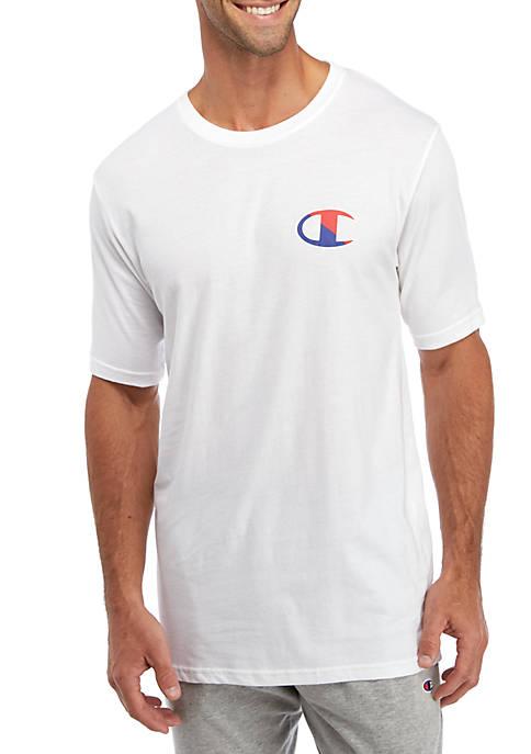 Champion® Mens Split Logo Sleep T-Shirt