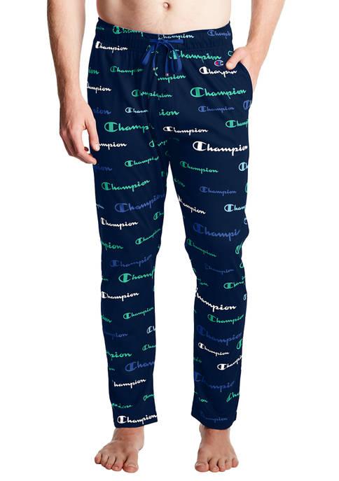Champion® Logo Navy Pajama Pants