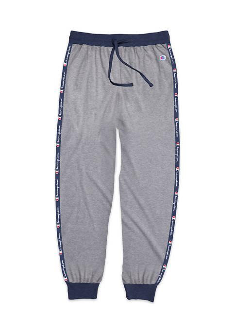 Athletics Ribbed Cuff Sleep Pants