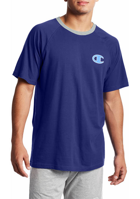 Champion® Short Sleeve Royal Blue Graphic T-Shirt