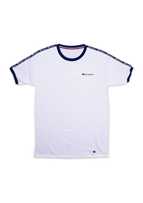 Champion® Athletics Short Sleeve Crew Neck Sleep T-Shirt
