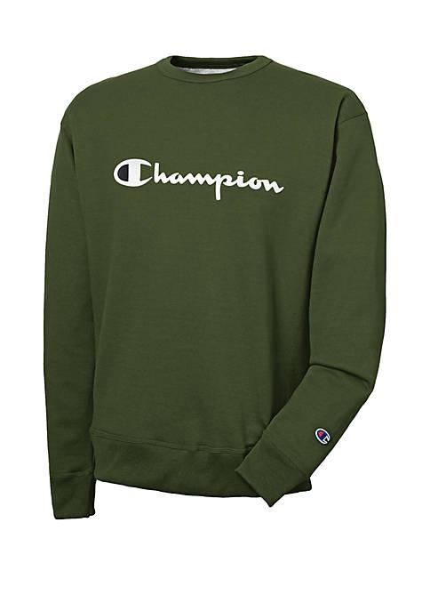 Graphic Logo Crew Sweatshirt