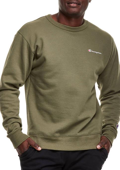 Champion® Powerblend Graphic Crew Neck Pullover