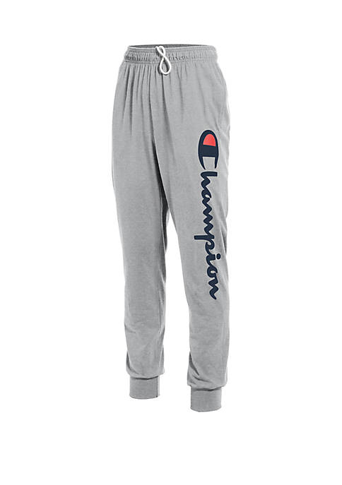 Champion® Graphic Jersey Joggers