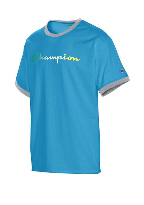 Classic Ringer Graphic T-Shirt