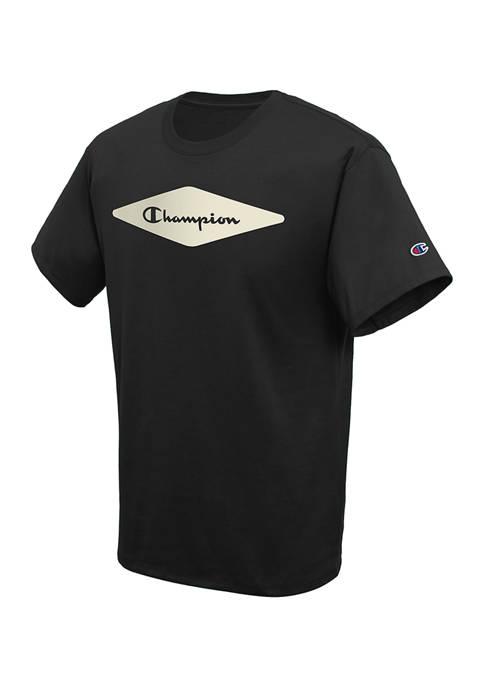 Champion® Short Sleeve Diamond Block Graphic T-Shirt