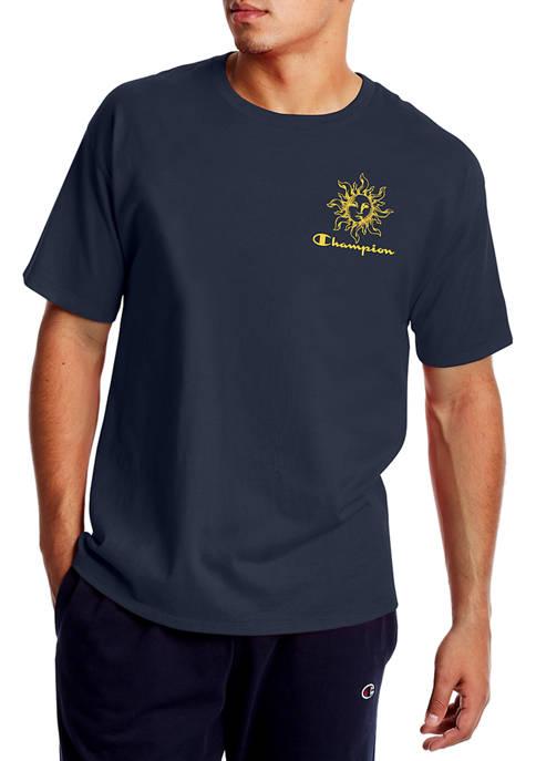 Short Sleeve Sun Graphic T-Shirt
