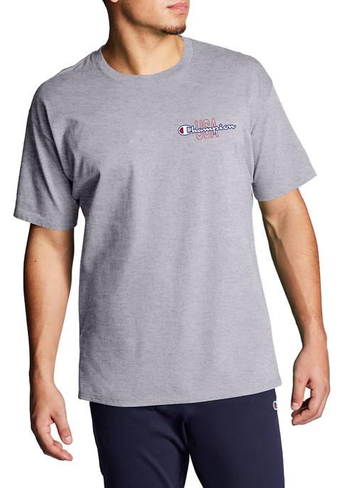 Champion® USA Logo Graphic T-Shirt