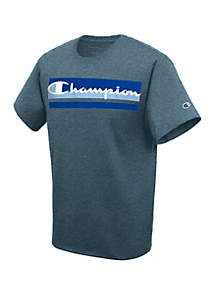 Champion® Graphic Multi Chest Logo T-Shirt