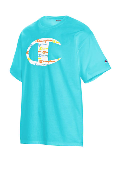 Champion® Short Sleeve Big C Graphic T-Shirt