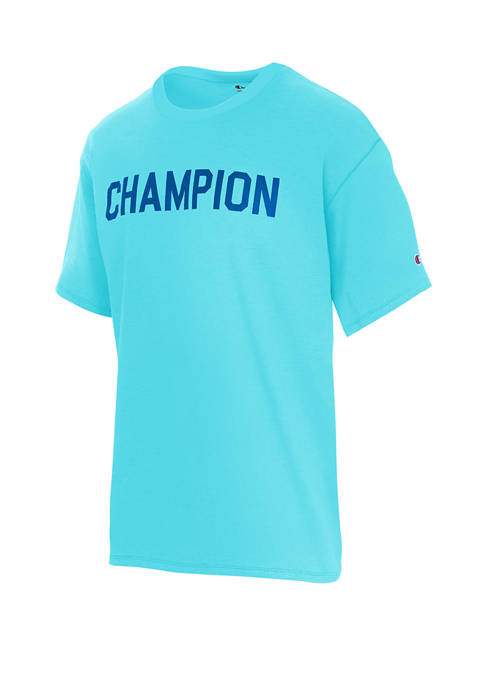 Champion® Sport Style Color Block Muscle T-Shirt