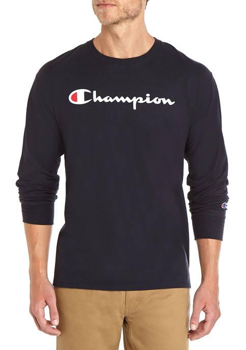 Long Sleeve Graphic Logo T Shirt