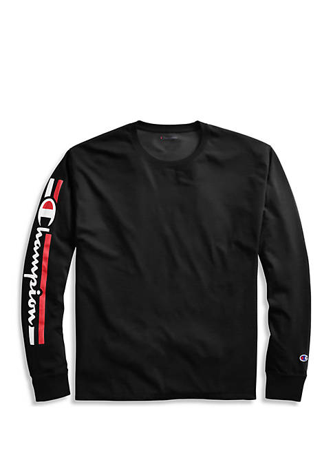 Champion® Long Sleeve Graphic T Shirt