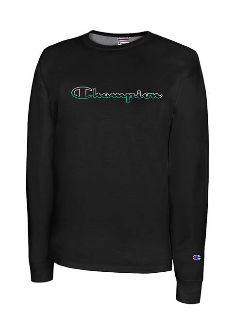 Champion® Classic Graphic Long Sleeve T-Shirt
