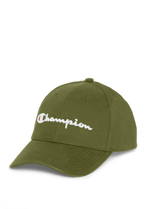 Champion® C Life Classic Twill Script Dad Hat