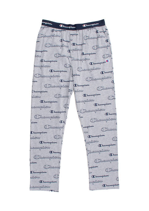 Champion® Logo Script Pajama Pants