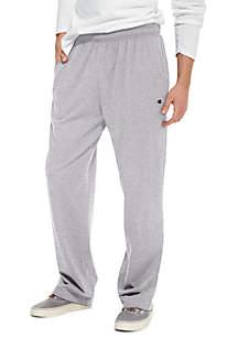 Champion® Open Bottom Jersey Pants