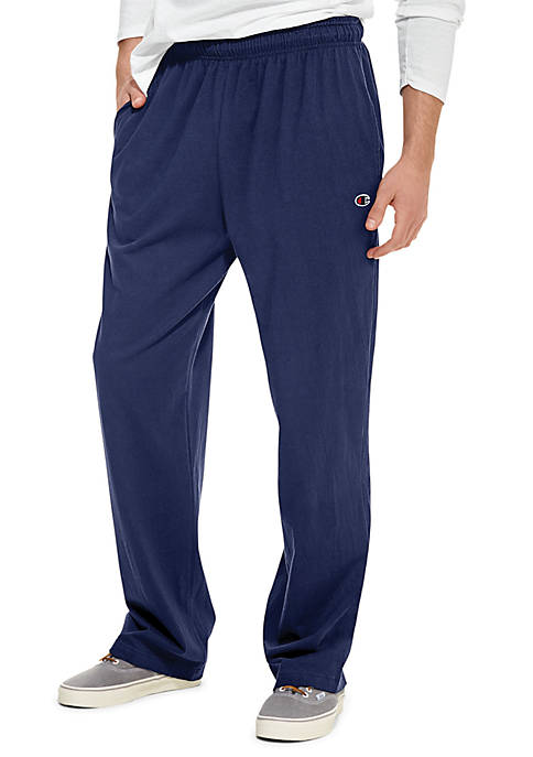 Champion® Open Bottom Jersey Pants