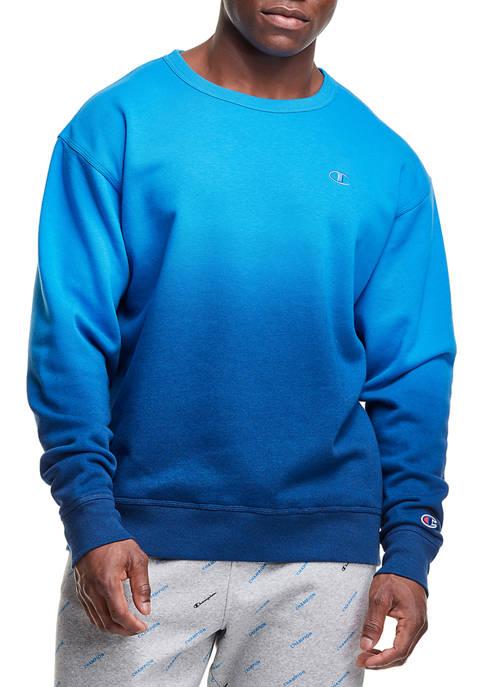 Champion® Ombré Dip Dyed Sweatshirt