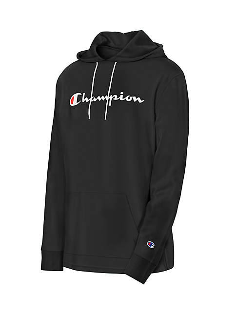 Champion® Jersey Long Sleeve Hoodie