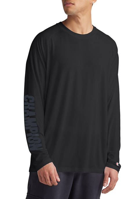Champion® Long Sleeve Logo Graphic T-Shirt