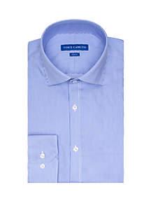 Vince Camuto Blue Pinstripe Button Down Shirt