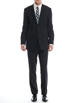 Vince Camuto Modern-Fit Wrinkle Free Check Suit