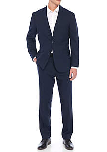 Solid Navy Suit