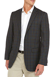 Grey and Blue Sports Coat