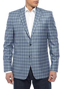 Oversized Plaid Sportscoat