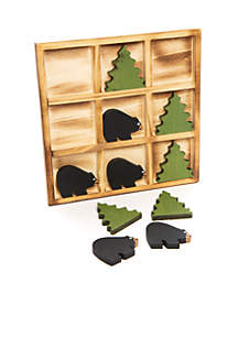 Bear and Tree Tic Tac Toe