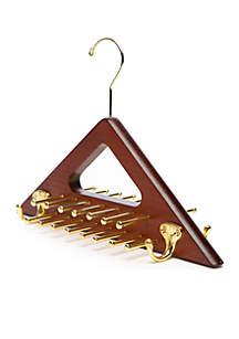 Saddlebred® Wooden Tie and Belt Rack
