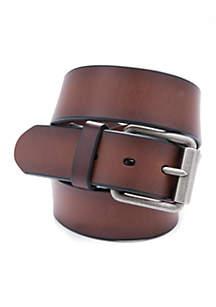 38 mm Bridle Beveled Roller Buckle Belt