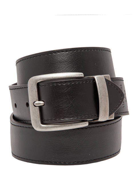 Levi's® 40 Millimeter Reversible Stained Edge Belt with