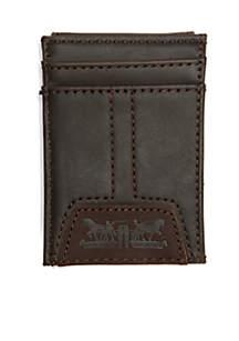 Wide Magnetic Front-Pocket Wallet