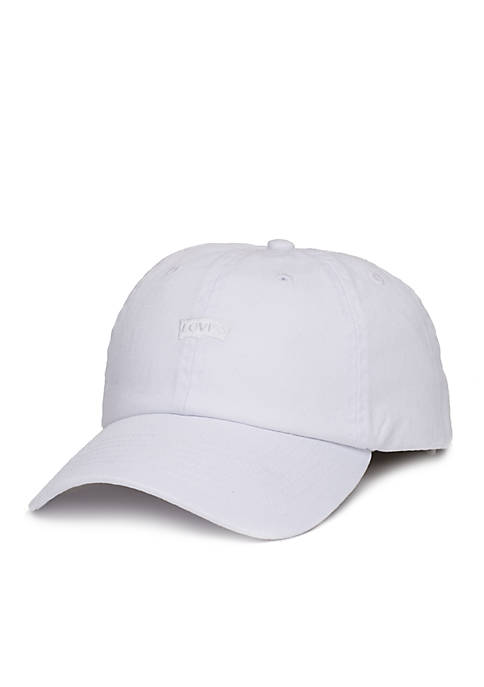 Levi's® Baseball Washed Twill Hat with Tonal Embroidery