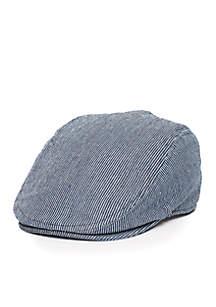 Railroad Stripe Driver Cap