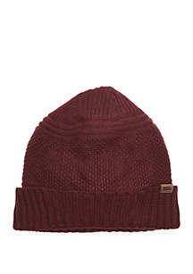 Textured Beanie with Cuff